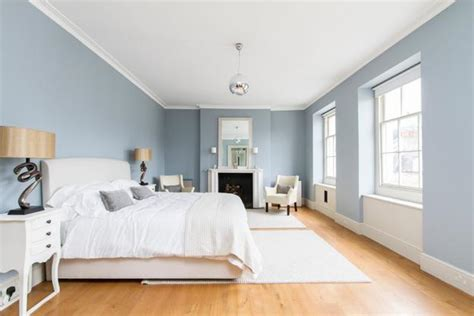 blue gray schlafzimmer paint matching interior design colors floor finish ceiling and