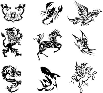 tattoo stencil designs free download free vector 591 free vector for