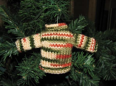 knitting pattern miniature sweater ornament mini sweater knitted christmas ornament crocheting