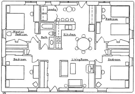 small four bedroom house plans farmhouse plans 4 bedroom house plans