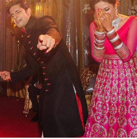 Photos Ravi Dubey Sargun Mehta Ee  S Ee    Ee  Wedding Ee   Reception