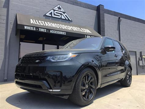 2017 land rover discovery custom black land rover discovery custom blackout package and