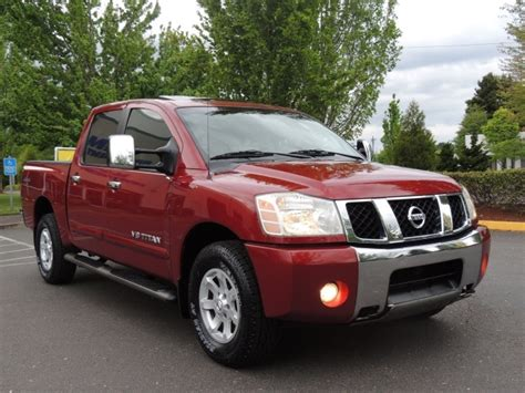 nissan titan dvd player 2005 nissan titan le 4x4 leather navigation sunroof