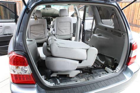 toyota seats removed 2006 2013 toyota highlander hybrid installation