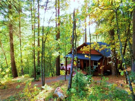 Stay In A Cabin In The Woods Creekside Cabin In The Woods Vrbo