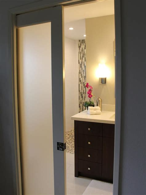 Modern Bathroom Doors Modern Pocket Doors