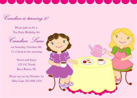 Template For Birthday Invitation Free   Ajordanscart.com