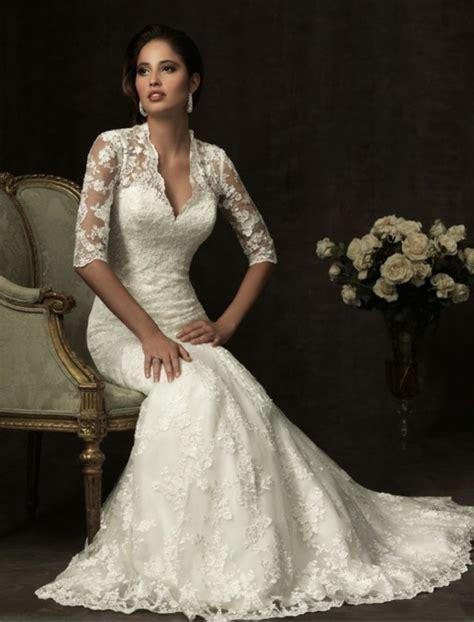 hochzeitskleid aus spitze 45 modelle brautkleid mit spitze archzine net