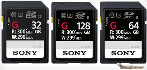 Pasaran Sandisk 32gb sony sf g uhs ii sdxc sdcard tercepat 2017