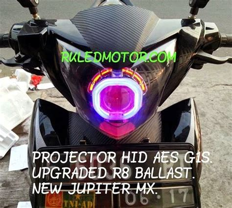 Lu Hid New Jupiter Mx rk motor lu projector hid lu led cree