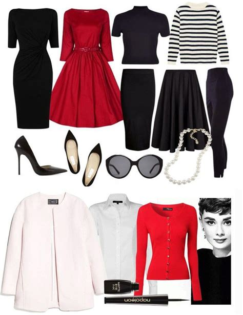 Fashion Capsule Wardrobe by 25 Best Ideas About Hepburn Clothes On