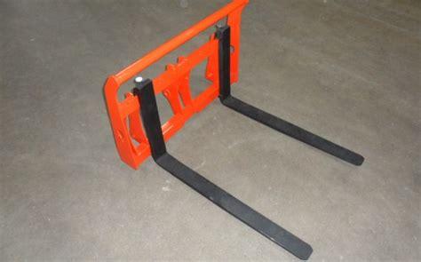 kubota bx forks kubota bx pallet forks redline systems inc equipment