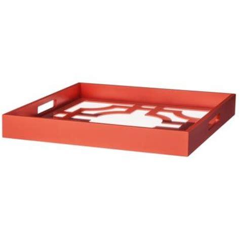 threshold coral lattice decorative tray i target