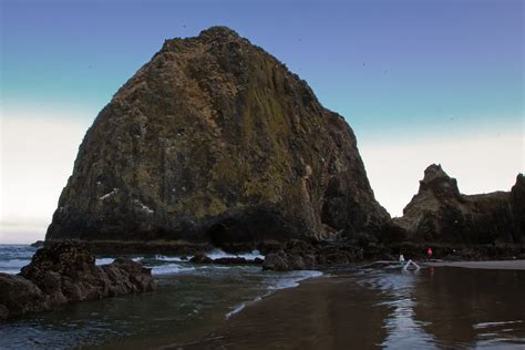 top 28 what type of rock is haystack rock haystack