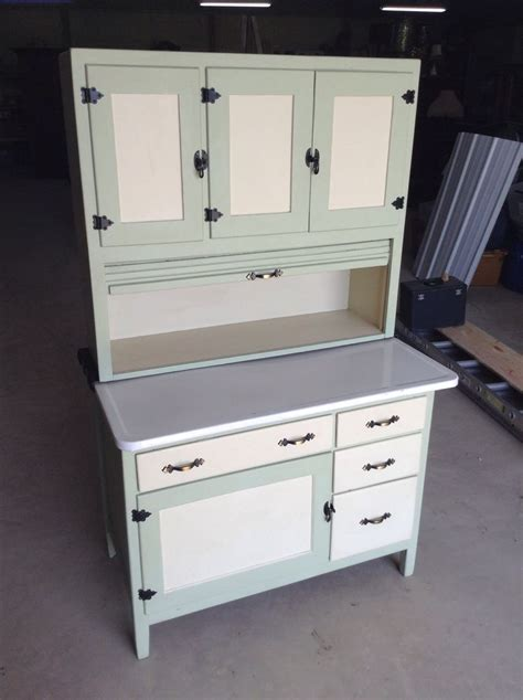 Sellers Kitchen Cabinets | antique hoosier sellers kitchen cabinet cupboard painted