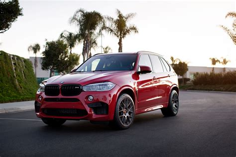 red bmw x5 melbourne red bmw x5 m with aftermarket parts and wheels