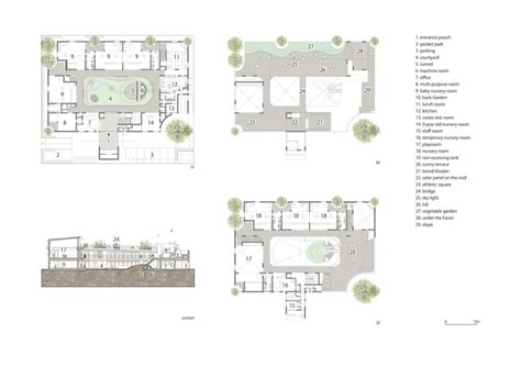 nursery school floor plan amanenomori nursery school aisaka architects atelier archdaily
