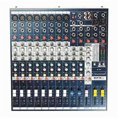 Mixer Console Murah jual soundcraft efx 8 harga murah primanada