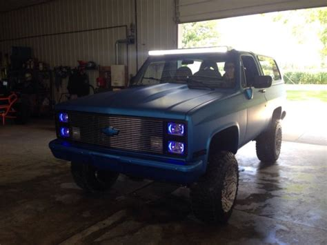 1986 chevy blazer k5 4x4 ls 6 0 motor 6 speed auto trans