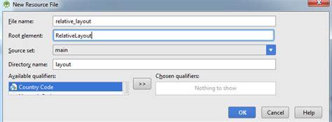 layout folder names belajar android studio mengenal layout bagian 2 relative