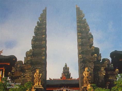 bali et candi bentar gapura porte d entr 233 e des temples et des villes pura lempuyang desa