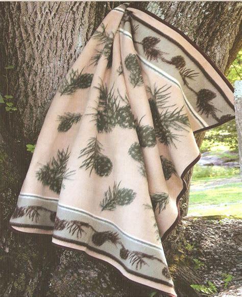 pc southwestern pine cone valley fleece twin bedding cbt