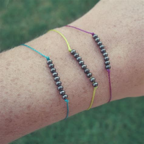 diy beaded bracelets diy dainty metal beaded bracelets tutorial