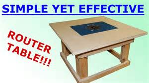 Woodworking Bench Top - woodworking simple mobile router table youtube