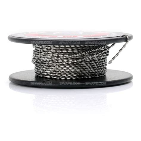 Authentic Ud Wire Kawat Vapor Kanthal A1 24 26 Awg authentic vapethink kanthal a1 24 awg x 2 3m twisted hearing wire