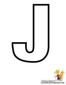 j color free coloring pages of alphabet letter j