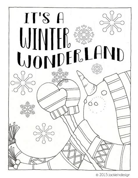 winter wonderland coloring pages coloring home items similar to winter wonderland coloring page pdf