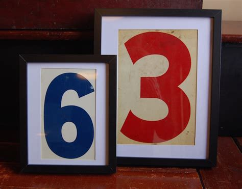 Home Design Decor Yellow Chair Market 187 Framed Vintage Gas Station Numbers