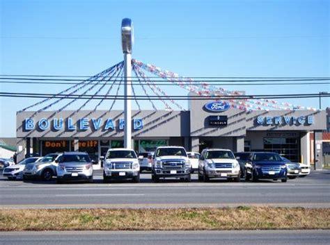 Boulevard Ford Lincoln car dealership in GEORGETOWN, DE