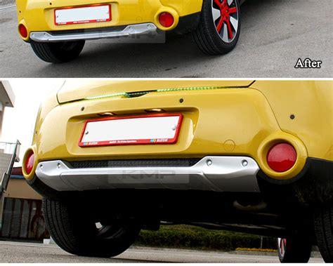 front bumper rear bumper guard skid plate diffuser set