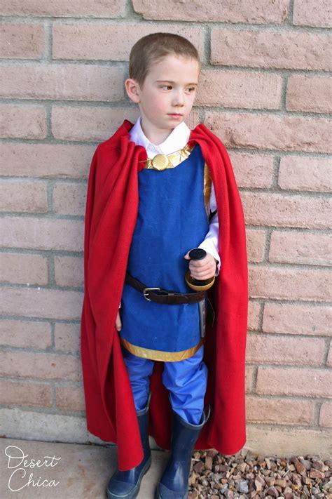 easy diy snow white prince costume desert chica