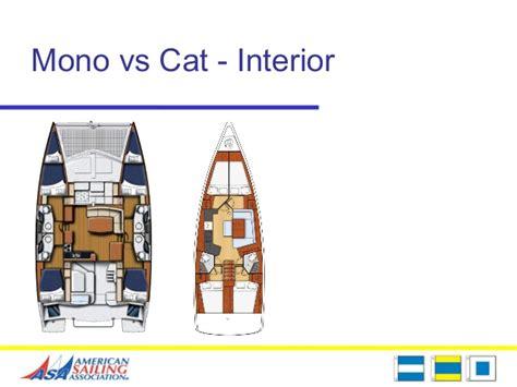 catamaran vs monohull capsize asa 114 catamaran