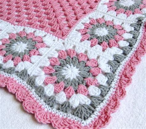 flower pattern crochet blanket crochet flower baby blankets are cute adorable and easy