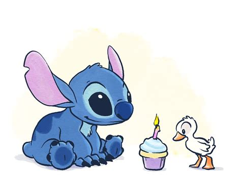 stitches birthday today is my s birthday so i drew up this