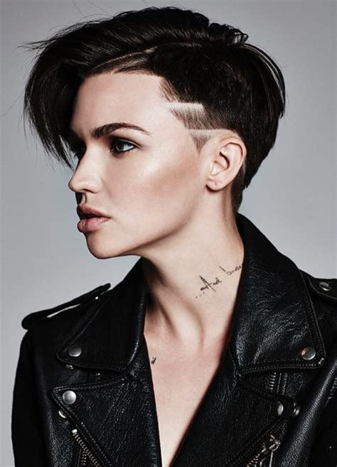 ruby rose hair 17 best images about shaved very short women s styles on