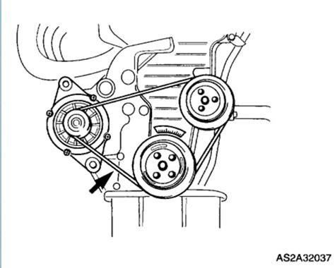 Kia Alternator Problems 2003 Kia Spectra Replacing Alternator Belt 2003 Kia