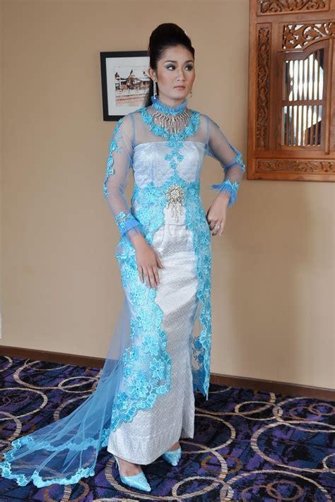 Balmut Mini Gajah Biru Putih sanee bridal creations butik pengantin di banda hilir