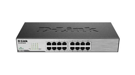 Diskon D Link Desktop Switch 16 Port 10 100mbps Des 1016d 16 port fast ethernet switch dss 16 d link canada
