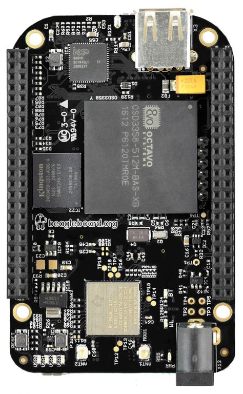 Beaglebone Black beagleboard org black wireless
