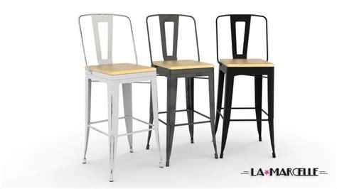 Definition Of Chaise Lot 4 Tabourets Au Design Industriel La Marcelle Avec