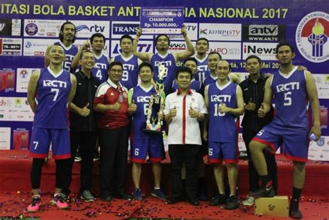 Baju Basket Di Sport Station rcti juara invitasi bola basket antarmedia nasional republika