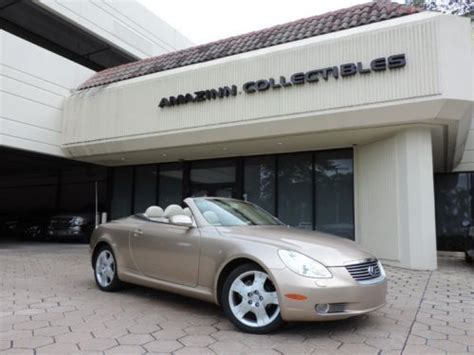 lexus sc430 gold buy used gold sc430 luxury convertible financing no