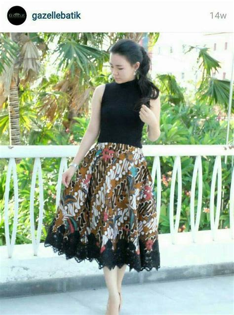 Rok Maxi Batik Sogan Coklat pin by martha tambunan on dress skirt kebaya baju kurung