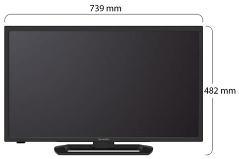 Tv Sharp Aquos 32 Led Tv Hitam sharp 32 tv led aquos lc 32le260 hitam lazada indonesia