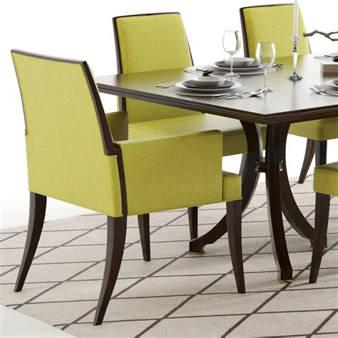 baker table and chairs baker vienna table and abrazo chairs
