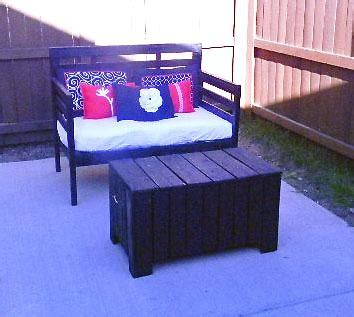 Diy Patio Loveseat by 18 Best Ideas About Outside Gardening On